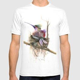 Hummingbird nest T-shirt
