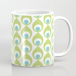 Retro Avocado Lime Green Coffee Mug
