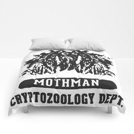 WEST VIRGINIA MOTHMAN CRYPTOZOOLOGY T-SHIRT Comforters