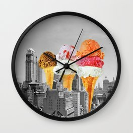 Urban Delights 1 Wall Clock