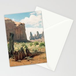 Southwest Desert Valley Stationery Cards