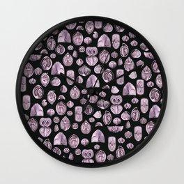 Seashells #3 Wall Clock