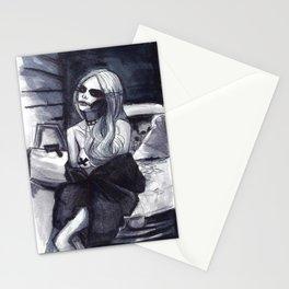 Taylor Momsen Skull  Stationery Cards