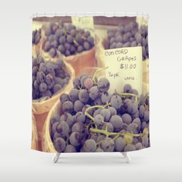 Concord Grapes photo Shower Curtain