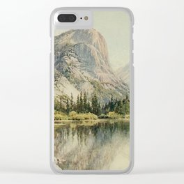 Palmer, Harold Sutton (1854-1933) - California 1914 - Mirror Lake, Yosemite Clear iPhone Case