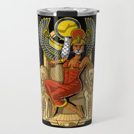 Egyptian Goddess Sekhmet Travel Mug