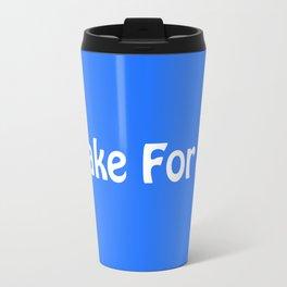 I Brake For Blue Shells (Mario Kart)  Travel Mug