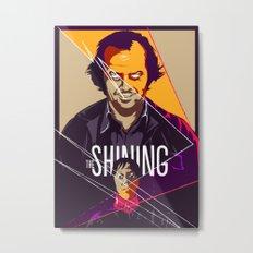 Shining Metal Print