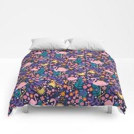Flamingo Tropical Comforters