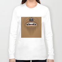 chewbacca Long Sleeve T-shirts featuring Chewbacca - Starwars by Alex Patterson AKA frigopie76