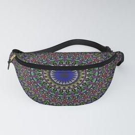 Colorful Sacred Kaleidoscope Mandala Fanny Pack