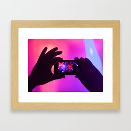 Take your pic! Framed Art Print