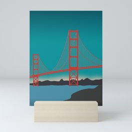 Golden Gate Bridge, San Francisco, California Landscape Mini Art Print