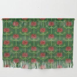 Spring Roses Pattern Wall Hanging