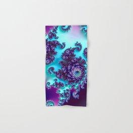 Jewel Tone Fractal Hand & Bath Towel