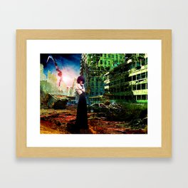 Ruins of Forgotten Time Framed Art Print
