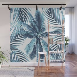 South Pacific palms II - oceanic Wall Mural