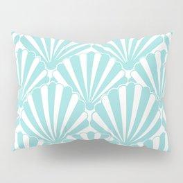 Sea shell Blue Pillow Sham
