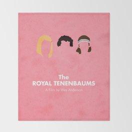 The Royal Tenenbaums Throw Blanket