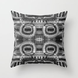 Life Cycle BW1 Throw Pillow