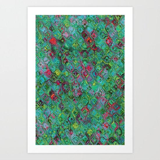 Ripple Effect Art Print