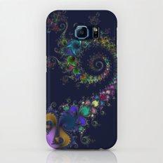 Fractal Spirals Galaxy S6 Slim Case