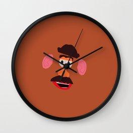 mr potato head... Wall Clock