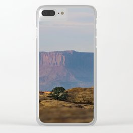 Distant Mesa Clear iPhone Case
