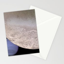 Neptune and Moon Stationery Cards