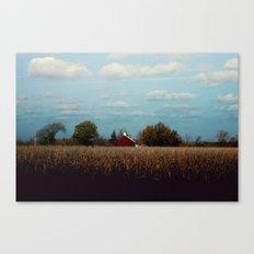 Life on the farm Canvas Print