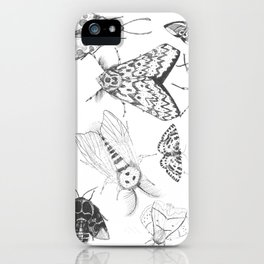 Moth Collection iPhone Case