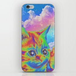 Rainbow Kitten iPhone Skin