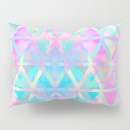 Pink pastel aztec pattern Pillow Sham