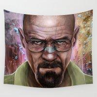 heisenberg Wall Tapestries featuring Heisenberg by Isabella Morawetz