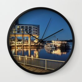 Nice place for romantic meeting Wall Clock