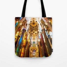 Sagrada Familia Art Work Tote Bag