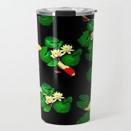 Black coy Travel Mug