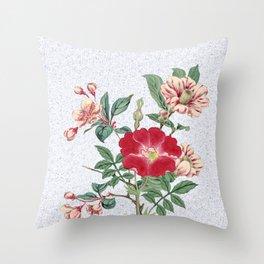 Floral bonanza Throw Pillow