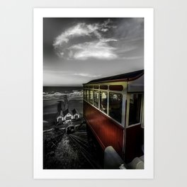 Ticket to Ride Art Print