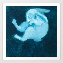 Ghost Bunny VIII Art Print