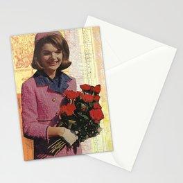 Handmade Collage, Jackie O Stationery Cards
