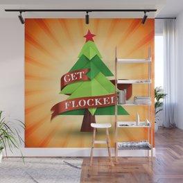 Get Flocked! Wall Mural