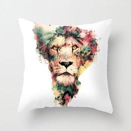 THE KING IV Throw Pillow