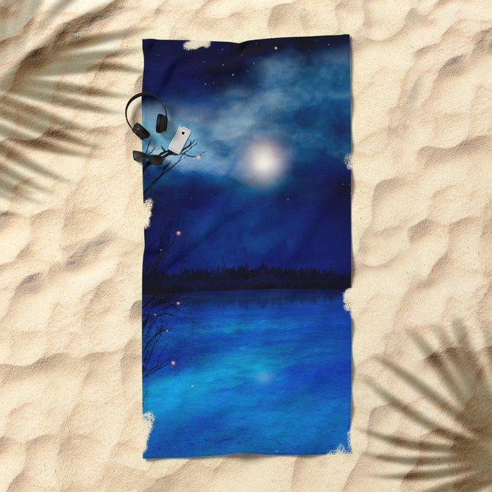 Wishing Stars Beach Towel