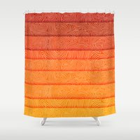 sunrise Shower Curtains featuring Sunrise by Diogo Verissimo