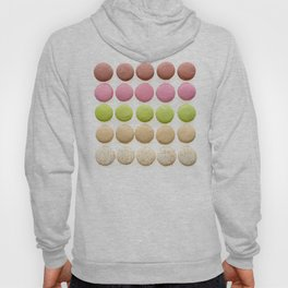Multicolored macarons Hoody
