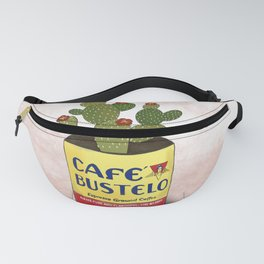 cafe bustelo And cactus  Fanny Pack