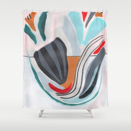 All Flawed Shower Curtain
