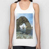 ship Tank Tops featuring Ship by nicky2342