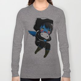 Fuzzy Chibi Luc (Expression 1)  Long Sleeve T-shirt